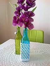 Dekorácie - Dekoračná fľaša  - 4282395_