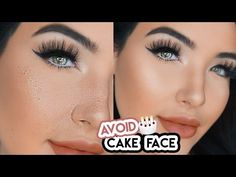 Why Does Makeup Look Cakey Flatlay - how to avoid cakey foundation & stop concealer creasing Foundation Tips, Flawless Foundation, How To Apply Foundation, No Foundation Makeup, Makeup Tutorial Foundation, Cakey Makeup, Makeup Tips, Eye Makeup, Makeup Ideas