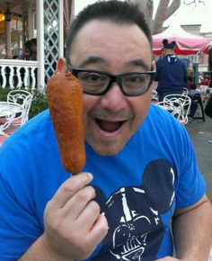 Corn Dog at Disneyland!!!