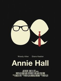 Directed by Woody Allen. With Woody Allen, Diane Keaton, Tony Roberts, Carol Kane. Neurotic New York comedian Alvy Singer falls in love with the ditzy Annie Hall. Diane Keaton Annie Hall, Jewish Comedians, Paul Simon, Yes I Have, Woody Allen, Minimalist Poster, Good Movies, Feelings, Words