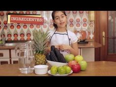▶ CHICHA MORADA - YouTube young girl demonstrates how to make it in Spanish.