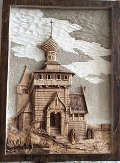 РОССИЯ ХlХ ВЕКА ( по литографии А.Дюрана)   Резьба по дереву, кости и камню