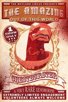 The Amazing Chestburster Poster