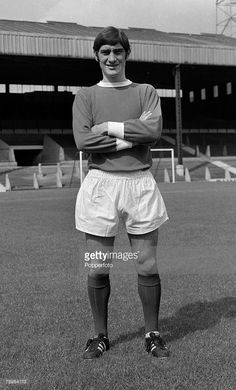Football, Circa 1960's, Francis Burns of Manchester United