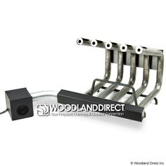 Fireplace Heaters for Masonry Fireplace - 5 Tubes w/Blower | WoodlandDirect.com: Electric Fireplace Heaters, Fireplace Blower