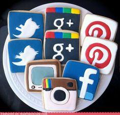 Social networking cookies