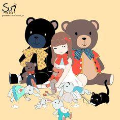 Mimi N are creating SUN Project - Fanart - Critique Dark Art Illustrations, Illustration Art, Fan Anime, Anime Art, Just Blinds, Sun Projects, Looks Dark, Deep Art, Arte Obscura