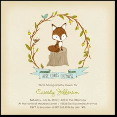 oh my gosh how CUUUUUTE!!! I think this will be my baby shower invite!