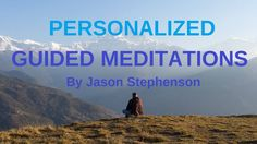 Personalized Guided Meditations or Affirmations recording to help you with stress relief, insomnia, PTSD, acceptance, letting go or whatever you need to help… Meditation Videos, Free Meditation, Meditation Techniques, Meditation Music, Guided Meditation, Transcendental Meditation Technique, Jason Stephenson, L Tyrosine, States Of Consciousness