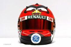 Great helmet for renault f1 pilots