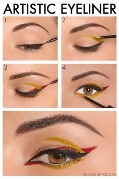 Artistic+Eyeliner