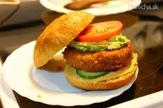 Cícerovo - quinoový burger