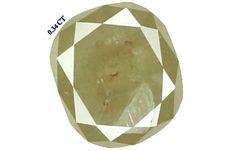 0.34 Ct Natural Loose Diamond Cushion Shape Grey Color 4.53X3.90X2.30 MM K2159