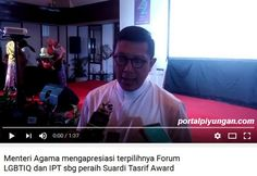 Dukung Penghargaan Untuk LGBT (Tasrif Award) Menag Lukman Kecewakan Umat Islam  [portalpiyungan.com] Aliansi Jurnalis Independen (AJI) memberikan Penghargaan Suardi Tasrif Award kepada organisasi Forum Lesbian Gay Bisexual Transgender Intersex Queer Indonesia (LGBTIQ Indonesia) dan IPT 65. Organisasi ini dianggap menyuarakan kebebasan berekspresi kaum minoritas di Indonesia dan mengupayakan rekonsiliasi negara dengan masa lalu kelam. Penghargaan ini diberikan dalam rangkaian ulang tahun…