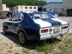 Ford Capri MK I 1969-1974 (1970-1971 MK Ia RS 2600),  left rear view