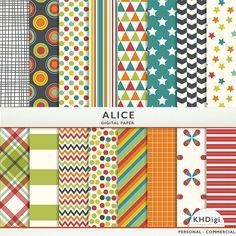 "Digital Paper - ""Alice"""