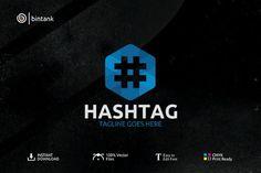 Hashtag Logo by bintank on @creativemarket