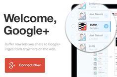 Buffer ahora permite programar y publicar contenido en Páginas de Google+
