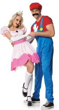 Princess Peach and Mario would be fun!