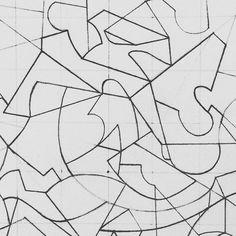 #art #artist #graficart #line #instaart #instaartist #geometry #paper #pensil