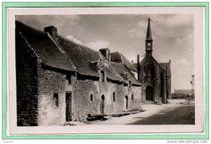 Maison du bourg de Saint-Colombier,   golfe du Morbihan, Brittany
