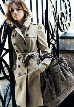 Things I will own one day. Hopefully. Burberry trench.