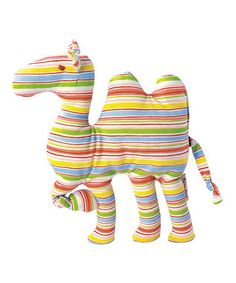 Striped Camel Plush Toy by Käthe Kruse Stuffed Animal Patterns, Dinosaur Stuffed Animal, 9 Month Olds, Animal Crafts, Needle And Thread, Little Ones, Toddler Girl, Calves, Infant