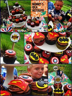 Mommy's Idea Notebook: Amazing Vintage Superhero Birthday Party!