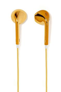 Nasty Gal | Hear No Evil Earbuds - Gold #nastygal #earbuds