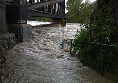 Flooding in Bowness. Courtesy of Chris Donihee.