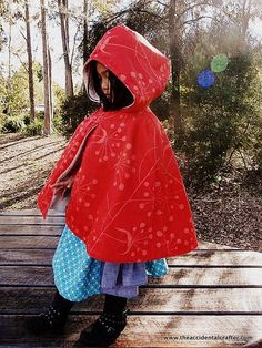 Red-Riding-Hood-Cape- from the accidental crafter.