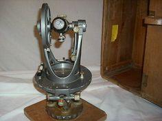 Vintage Brunson Model 50 Engineer's Transit w/ Wood Case