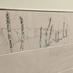 Our first look at the installed product! #laserengraved tiles for the #pascoairport expansion. #tricitiesairport
