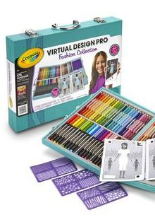 Inspire your young fashion designer this Christmas with Crayola Virtual Design Pro. | gifts for kids