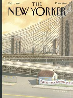 "The New Yorker - Monday, February 3, 1997 - Issue # 3739 - Vol. 72 - N° 45 - Cover ""The Sale of the Century"" by Bruce McCall"