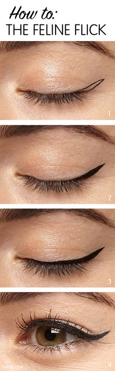 The #makeup equivalent of a leather jacket, flicked #blackeyeliner goes with everything and works for any occasion. No wonder we love it so much!