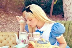 This handmade Alice In Wonderland is perfect!