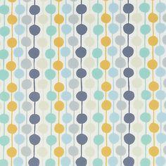 Buy Scion Tami Print Fabric, Blue Online at johnlewis.com