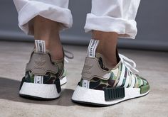 The Complete BAPE x adidas Originals Collection Releases On November 26th - http://sneakernews.com/2016/11/17/bape-adidas-nmd-release-date/