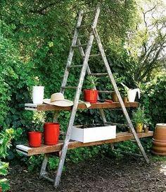 Garden benches + nooks