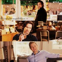 #teamjess #teamdean #teamlogan, from gilmore girls revival ALL THREE ARE BACK