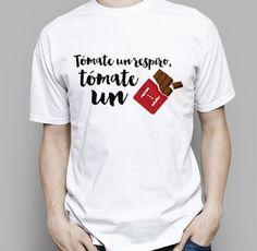 Camiseta original Tómate un respiro para hombre