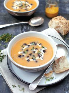 Paul Flynn's Family Food Recipes.  Turnip, Cider and Thyme Soup with Black Pudding Crumbles.