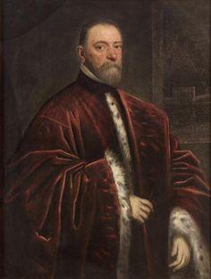Portrait of a Procurator,Italian, Venetian  Workshop of Jacopo Robusti, called Tintoretto  1519 - 1594 Venice