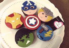 Sta. Mónica | Cupcakes Vengadores