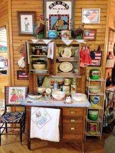 Sellers Hoosier cabinet