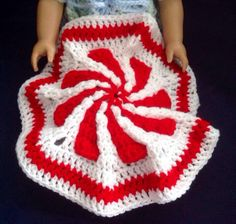 A personal favorite from my Etsy shop https://www.etsy.com/listing/258757751/american-girl-doll-blanket-18-inch-doll