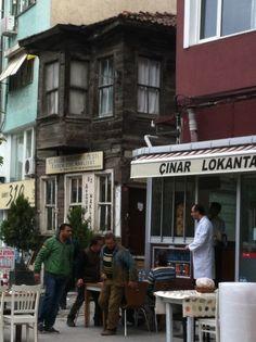 turkish people in a turkish lokanta...
