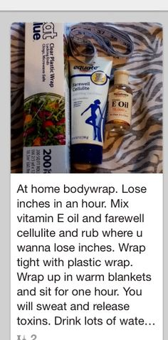 At home body wrap