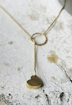 sweet tiny heart necklace